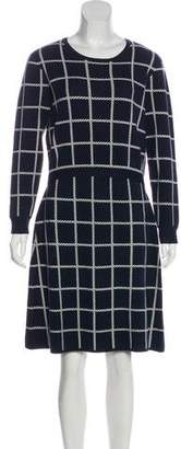 Draper James Dixie Windowpane Sweater Dress w/ Tags