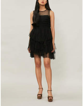 RED Valentino Layered tulle mini dress