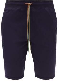 Paul Smith Cotton Jersey Pyjama Shorts - Mens - Navy