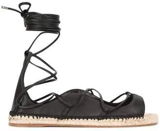 DSQUARED2 lace-up espadrille sandals