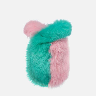 Charlotte Simone Women's Lil Pop Bag - Pastel Pink/Mint Green