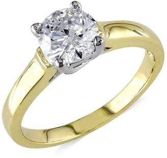 Concerto 14K Yellow Gold 1.0 CT. T.W. Diamond Solitaire Ring