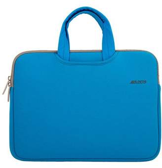 Mosiso Laptop Briefcase, Water Repellent Neoprene Carry Bag Sleeve for 15-15.6 Inch Laptop / Notebook Computer / MacBook Pro / MacBook Air(Internal Dimensions: 15.16 x 0.79 x 10.63 inches), Blue-1
