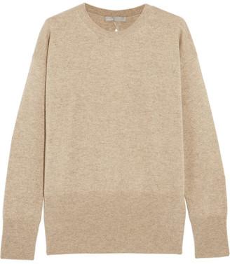 Vince - Cutout Cashmere Sweater - Beige $325 thestylecure.com