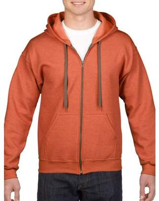 Gildan Mens Vintage Full Zip Hooded Sweatshirt