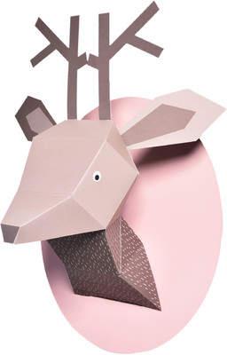 Nurseryworks Nursery Works Menagerie Zoe the Deer Paper Bust Wall Decor