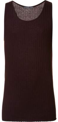 Denis Colomb ribbed tank top