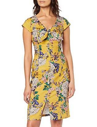 ba8e0732f3 Joe Browns Women's Classic Floral Bow Front Dress8 (Size:UK ...