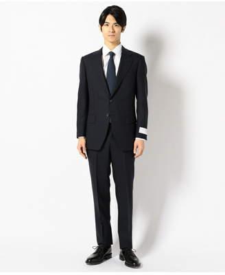 gotairiku (五大陸) - gotairiku レトロテック スーツ シャドーギンガムチェック 紺 ゴタイリク ビジネス/フォーマル