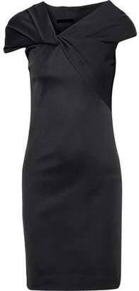Helmut Lang Twist-front Stretch-knit Dress
