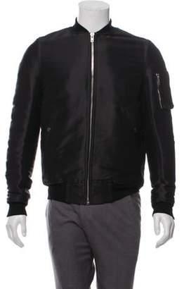 Rick Owens Oversize Down Utility Bomber Jacket black Oversize Down Utility Bomber Jacket