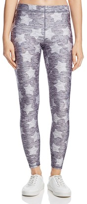 Terez Star Print Leggings $78 thestylecure.com