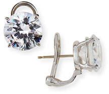 FANTASIA CZ Round Stud Earrings, 10.00 TCW