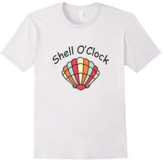Colorful Sea Shell Summer Vacation Beach T-Shirt