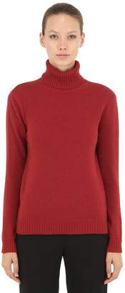 Max Mara Turtleneck Wool & Cashmere Blend Sweater