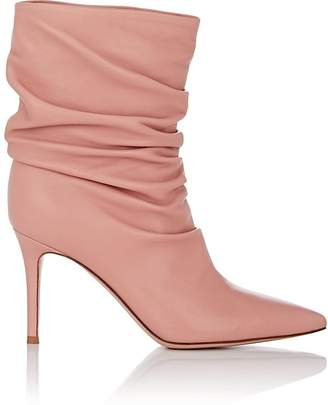 Gianvito Rossi Women's Cecile Leather Ankle Boots