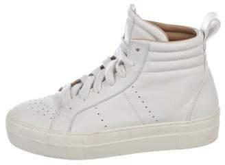 Helmut Lang Platform High-Top Sneakers