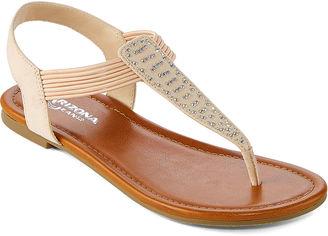 ARIZONA Arizona Sandy Womens Flat Sandals $40 thestylecure.com