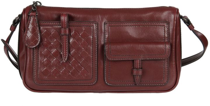 Bottega VenetaBottega Veneta Simple Pocket Shoulder Bag