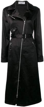 Sonia Rykiel biker jacket silhouette dress