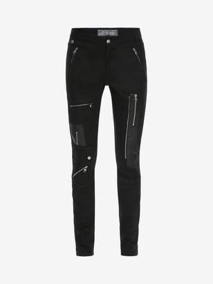 Alexander McQueen Zipped Jeans