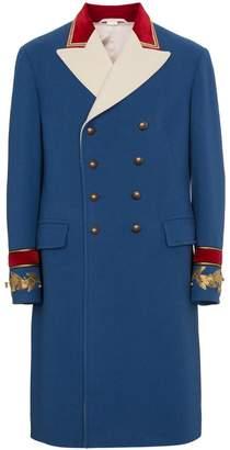 Gucci wool cashmere coat