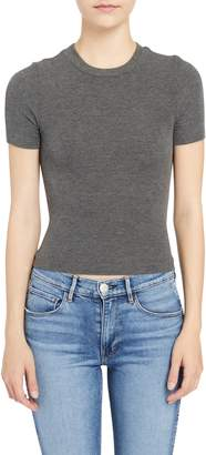 Getting Back To Square One Crop Crewneck T-Shirt