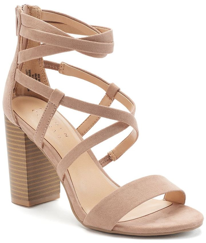 Lauren Conrad Sunrise Women's High Heels