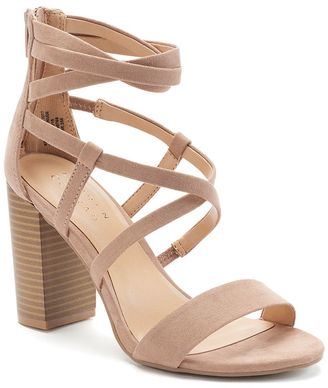 LC Lauren Conrad Sunrise Women's High Heels $59.99 thestylecure.com