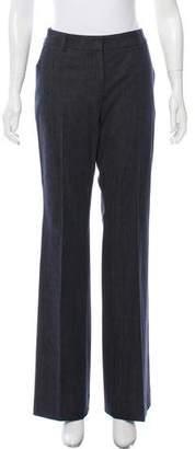 Akris Mid-Rise Wide-Leg Pants