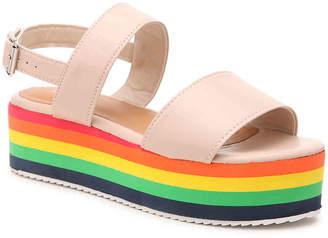 Qupid Aurora Platform Sandal - Women's