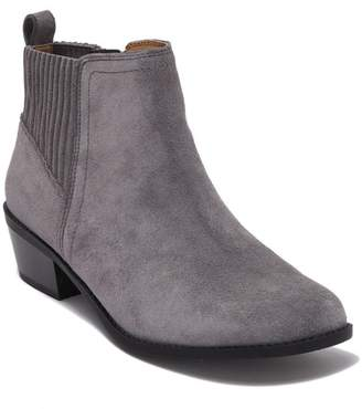 Vionic Devon Suede Ankle Bootie - Wide Width Available