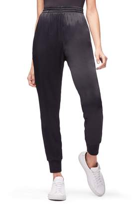 Good American Satin Jogger Pants