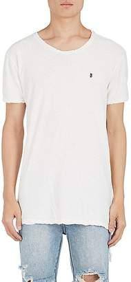 Ksubi Men's Cross Dollar Cotton-Linen T-Shirt