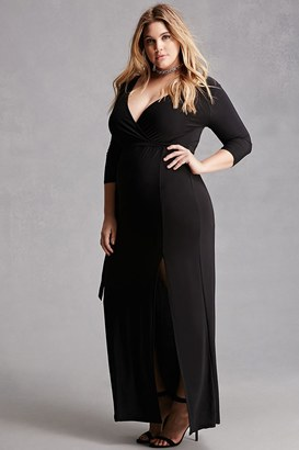FOREVER 21+ Plus Size Maxi Dress $28 thestylecure.com