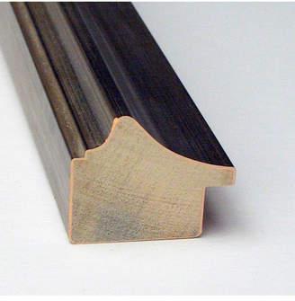 Amanti Art Bel Volto Silver 39x27 Framed Grey Cork Board
