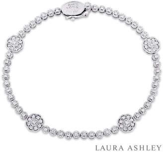 FINE JEWELRY Womens 7/8 CT. T.W. White Diamond 10K Gold Tennis Bracelet