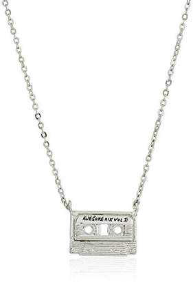 Marvel Unisex Guardians of The Galaxy Wee Cassette Accent Pendant Necklace