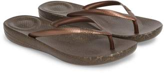 FitFlop iQushion(TM) Snakeprint Flip Flop