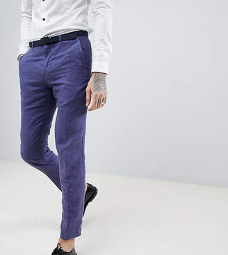 Heart & Dagger skinny suit pants in linen