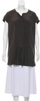 Isabel Marant Silk Pleated Tunic