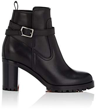 Christian Louboutin Women's Trapeurdekoi Leather Ankle Boots