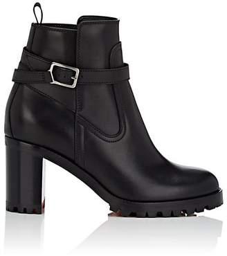 Christian Louboutin Women's Trapeurdekoi Leather Ankle Boots