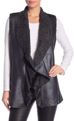 Muche et Muchette Diago Faux Leather & Faux Fur Vest