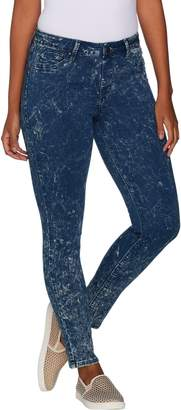 Laurie Felt Silky Denim Acid Wash Ankle Pull-On Jeans
