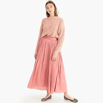 Point Sur crinkled maxi skirt