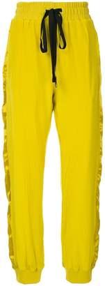 Haider Ackermann side stripe track pants
