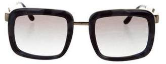 Stella McCartney Logo Square Sunglasses