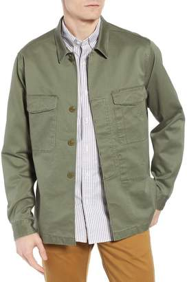 J.Crew J. Crew Regular Fit Military Shirt Jacket