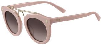 MCM 49mm Round Sunglasses $326 thestylecure.com